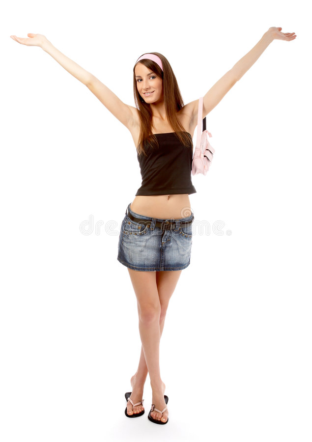 Download Modello In Pannello Esterno Dei Jeans Immagine Stock - Immagine di aperto, sacchetto: 7323727
