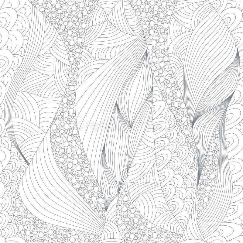 Modello per anti coloritura di sforzo royalty illustrazione gratis