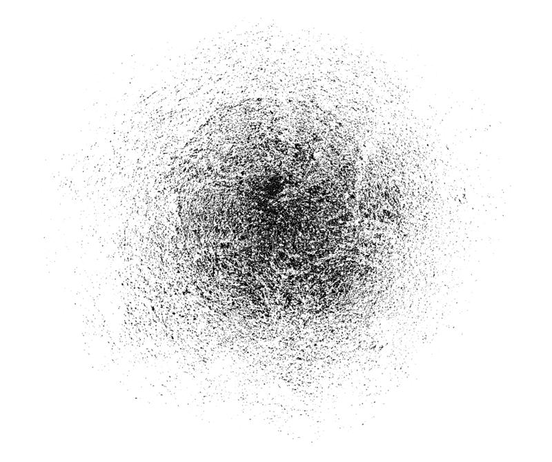 Modello polveroso di struttura di vettore per la vostra progettazione di lerciume Particelle di polvere fini La struttura dell'em illustrazione vettoriale
