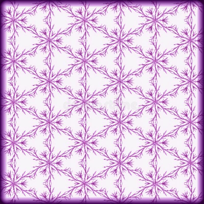 modello porpora geometrico di colori leggeri illustrazione vettoriale