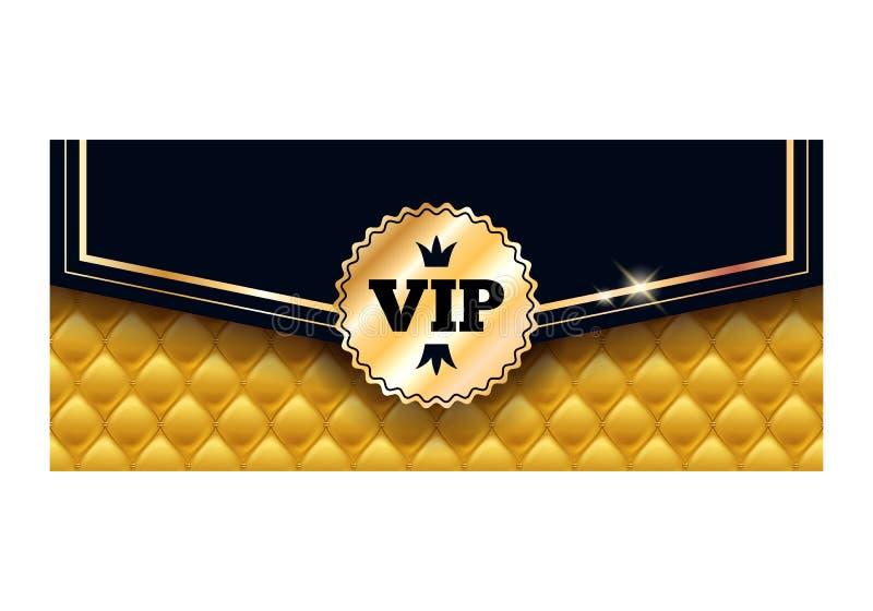 Modello premio di progettazione della carta dell'invito di VIP royalty illustrazione gratis