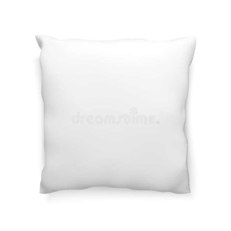 Modello pulito del cuscino, modello di vettore per progettazione illustrazione di stock
