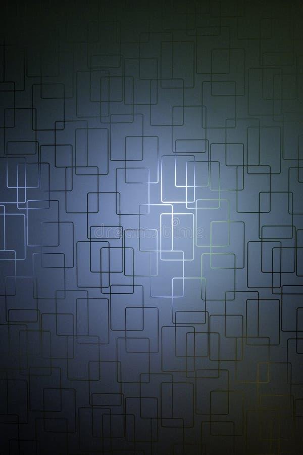 Modello quadrato complicato fotografie stock libere da diritti