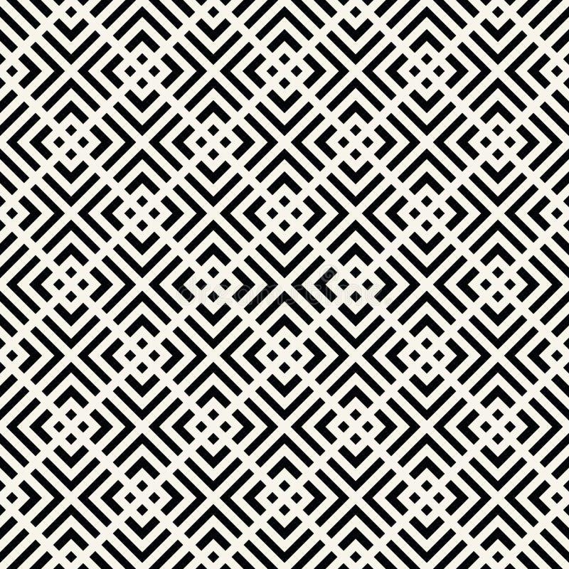 modello quadrato minimo geometrico del grafico di griglia fotografie stock