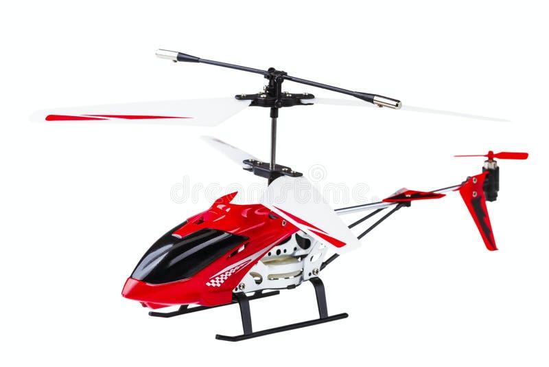 Modello radio-controllato dell'elicottero fotografia stock libera da diritti