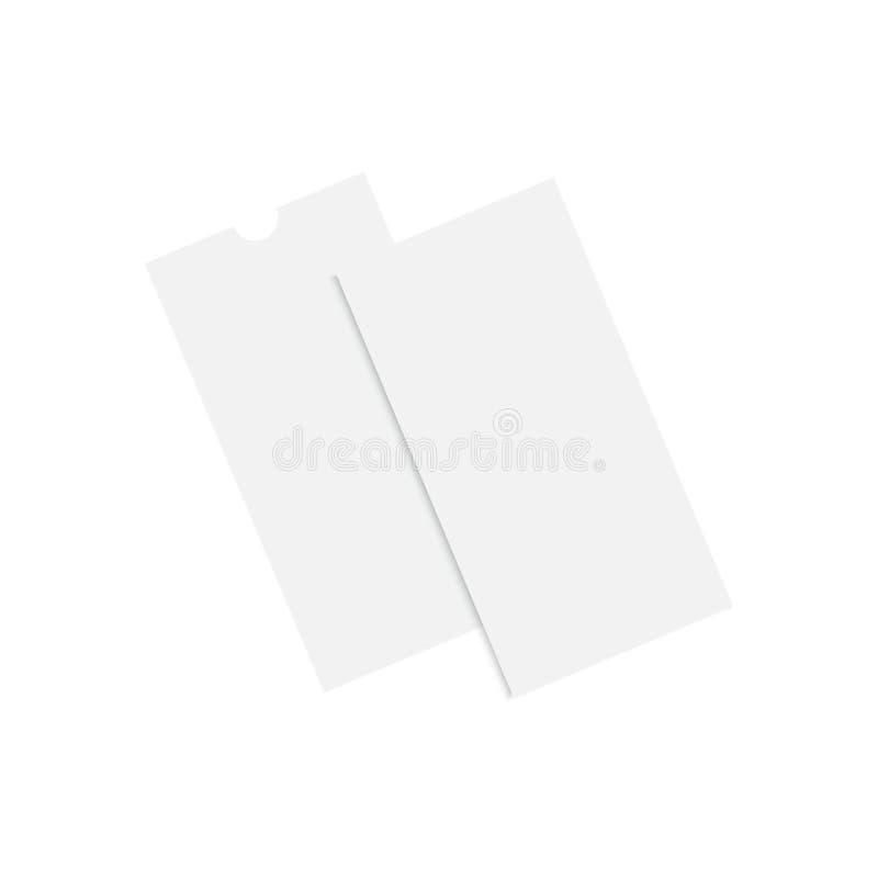 Modello realistico dell'aletta di filatoio di DL Vettore royalty illustrazione gratis