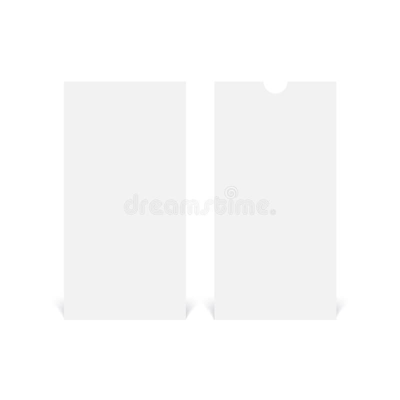 Modello realistico dell'aletta di filatoio di DL Vettore illustrazione vettoriale