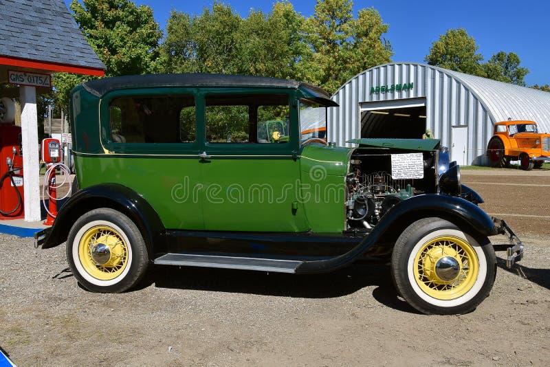 Modello ristabilito A di Ford 1928 fotografia stock