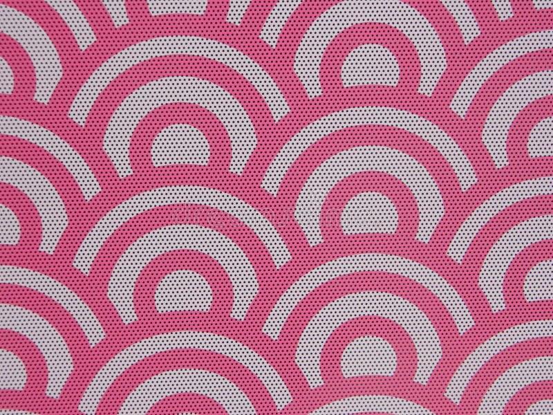 Modello rosa con i fori dell'altoparlante immagini stock libere da diritti