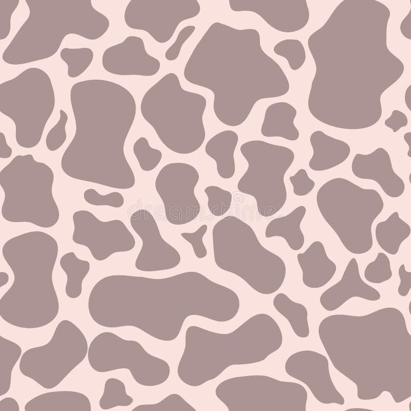 Modello rosa senza cuciture della pelle della giraffa Stampa affascinante della pelle della giraffa, struttura, fondo royalty illustrazione gratis