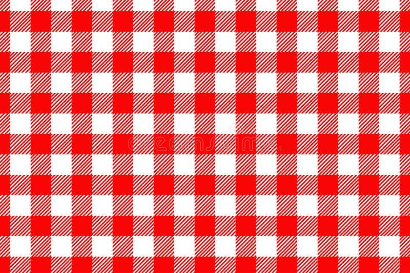 Modello rosso del percalle Struttura dal rombo/quadrati per - il plaid, tovaglie, vestiti, camice, vestiti, carta, lettiera, cope fotografia stock libera da diritti