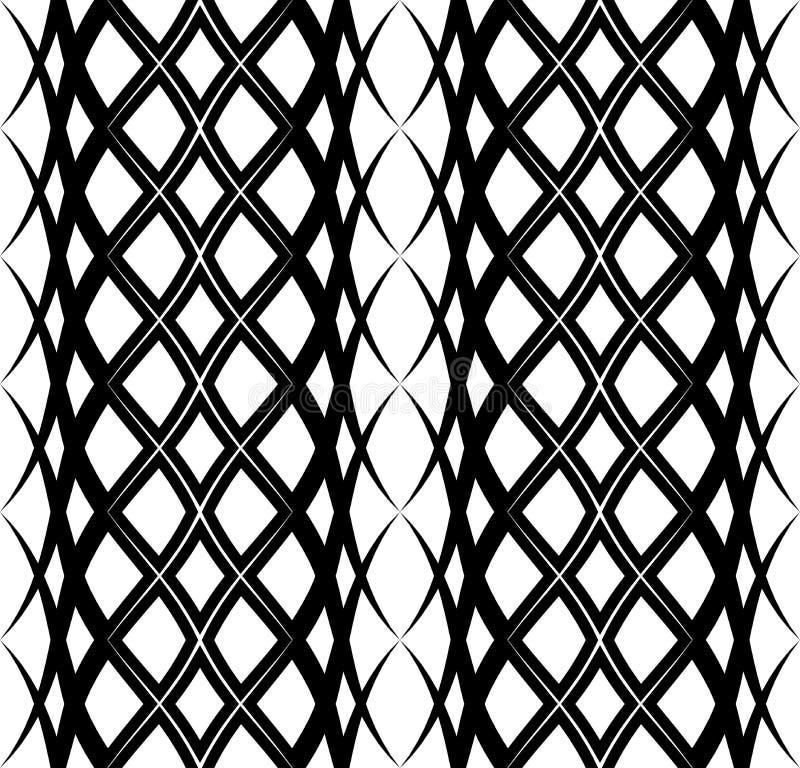 Modello senza cuciture arabo con l'onda 4 royalty illustrazione gratis