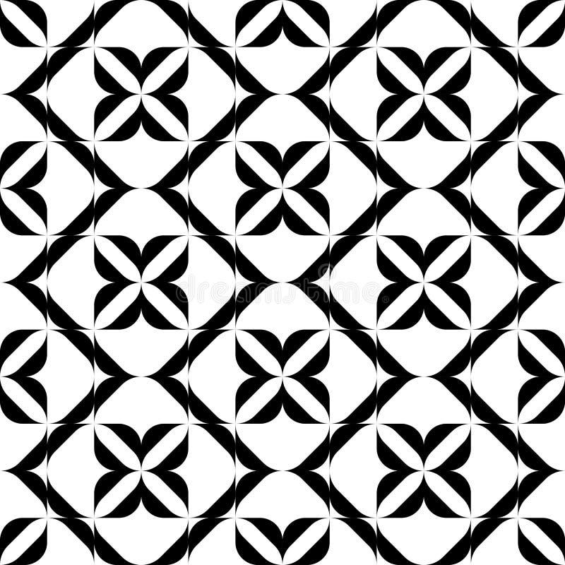 Download Modello Senza Cuciture In Bianco E Nero, Fondo Astratto Illustrazione Vettoriale - Illustrazione di grafico, disegno: 56880365