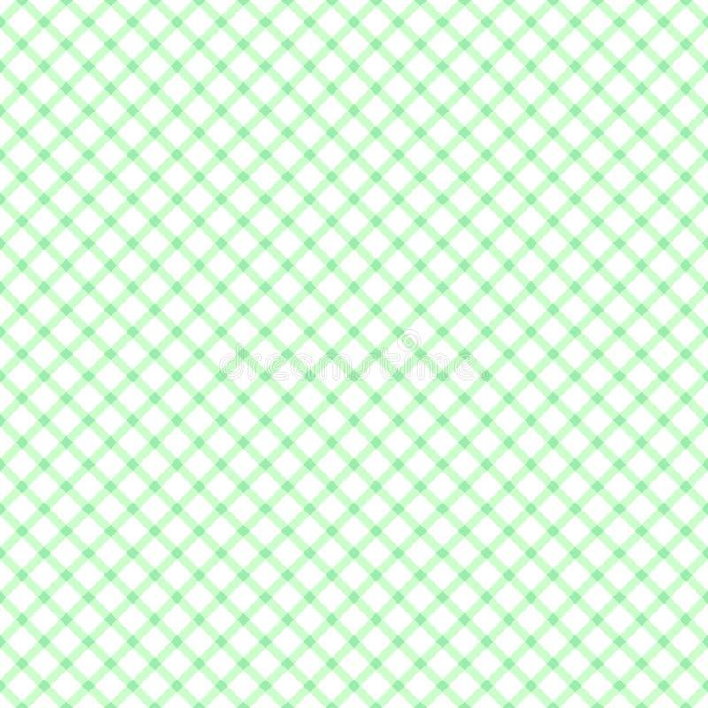 Modello senza cuciture con fondo verde chiaro e bianco fotografia stock libera da diritti