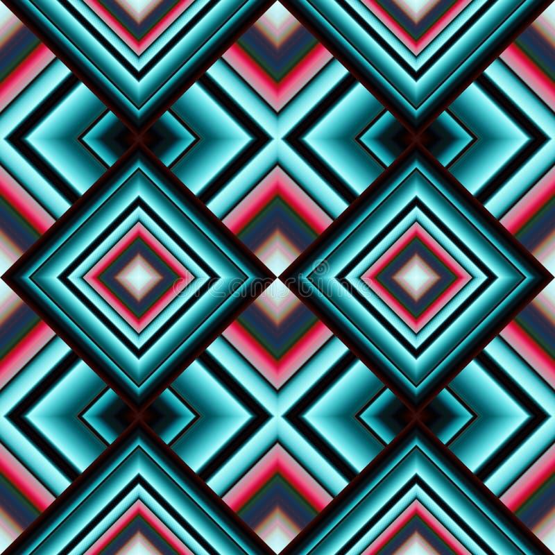 modello senza cuciture dei tessuti di rhombuses illustrazione vettoriale