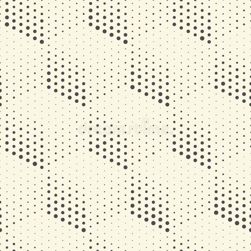 Modello senza cuciture del cubo Carta da imballaggio futuristica astratta Backgr illustrazione di stock