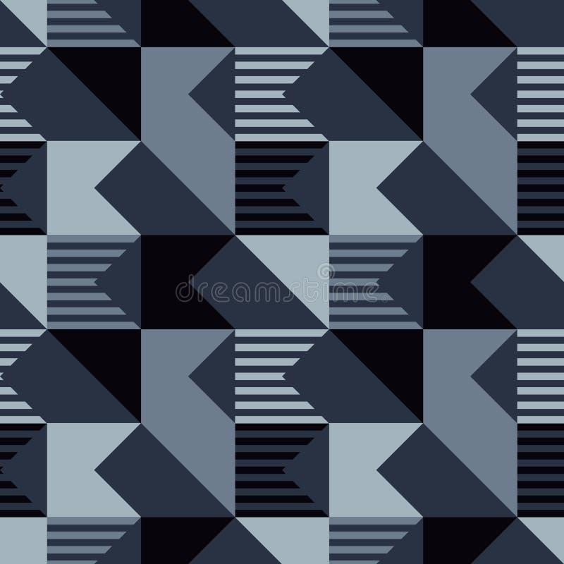 Modello senza cuciture del taglio diagonale illustrazione vettoriale