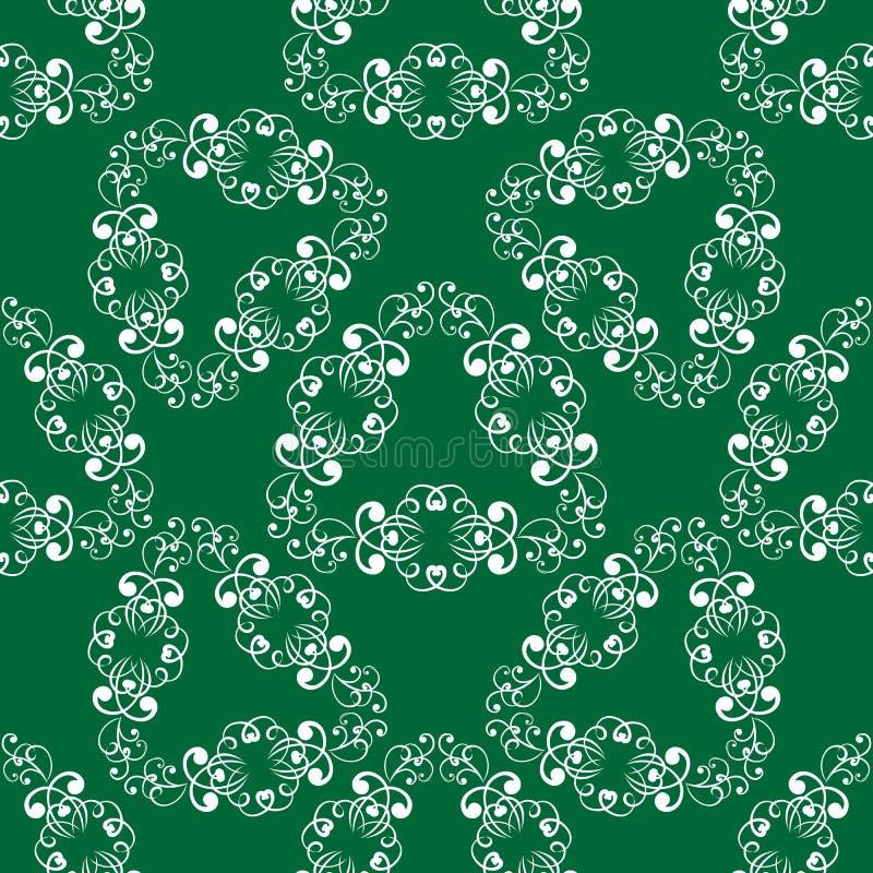 Download Modello Senza Cuciture Delicato Verde Illustrazione Vettoriale - Illustrazione di delicato, wallpaper: 56887055