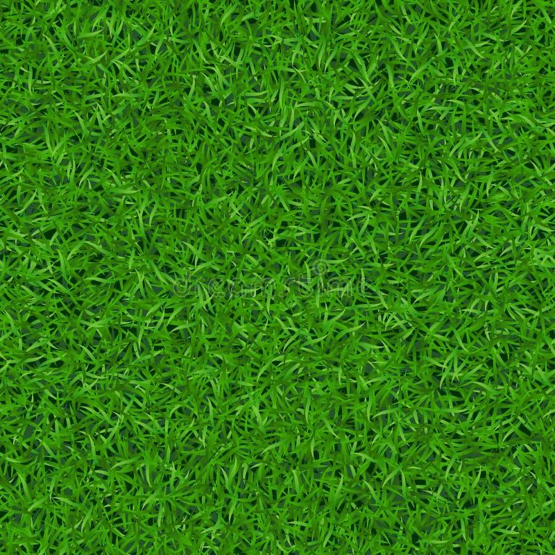 Modello senza cuciture 1 dell'erba verde royalty illustrazione gratis