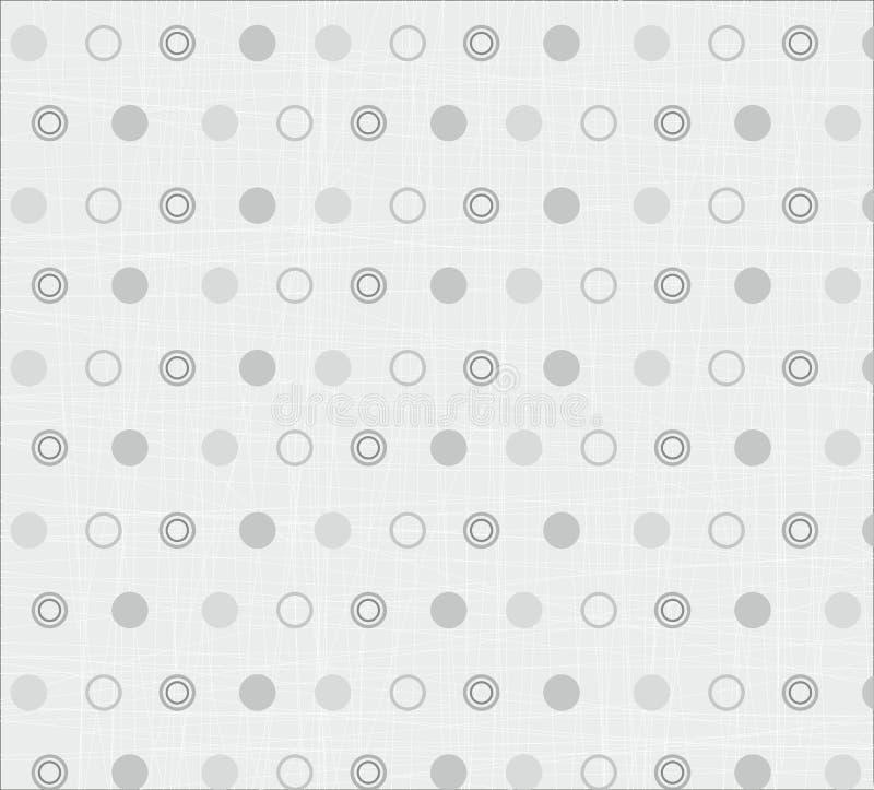 Modello senza cuciture della trapunta del tessuto illustrazione vettoriale