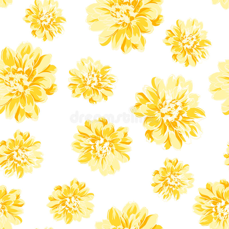 Modello senza cuciture di colore del fiore della peonia - Modello di base del fiore ...