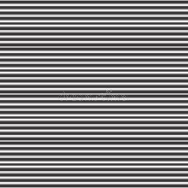 Modello senza cuciture di progettazione di motivo della linea sottile illustrazione di stock