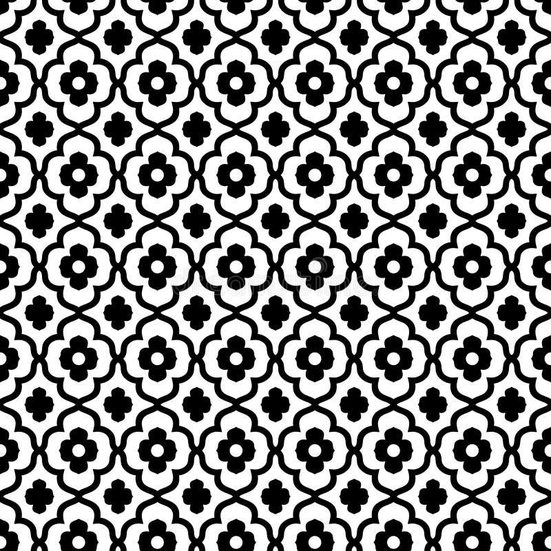 Modello senza cuciture di stile marocchino illustrazione vettoriale
