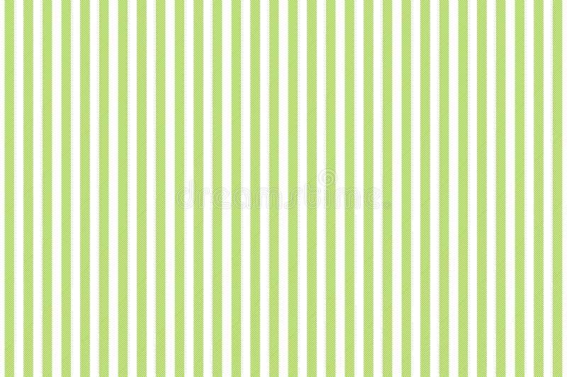 Modello senza cuciture di struttura a strisce bianca verde del tessuto royalty illustrazione gratis