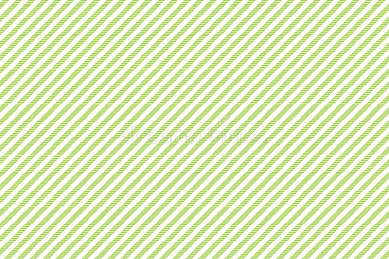 Modello senza cuciture di struttura a strisce bianca verde del tessuto illustrazione di stock