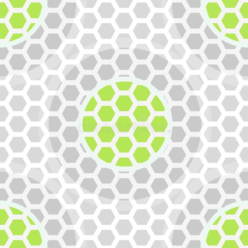 Modello Senza Cuciture Di Verde Astratto Di Tecnologia Immagine Stock Libera da Diritti