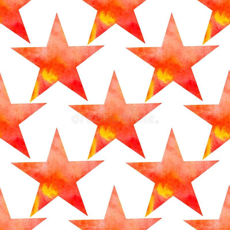 Download Modello Senza Cuciture Di Vettore Dell'acquerello Con Le Stelle La Galassia Stars La Struttura Illustrazione Vettoriale - Illustrazione di cute, arancione: 56885019