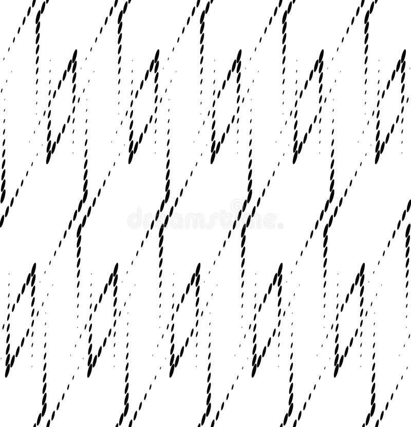 Download Modello Senza Cuciture Geometrico In Bianco E Nero, Fondo Astratto Illustrazione Vettoriale - Illustrazione di figura, estratto: 56880785