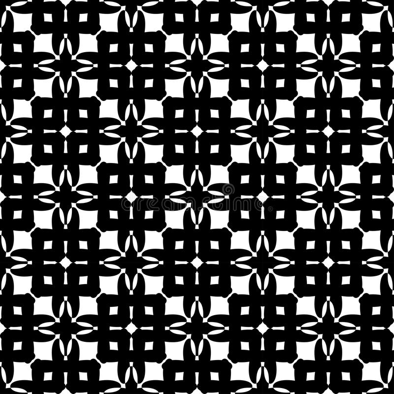 Download Modello Senza Cuciture Geometrico In Bianco E Nero, Fondo Astratto Illustrazione Vettoriale - Illustrazione di nero, decorativo: 56880829