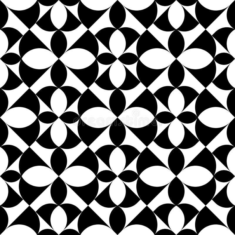 Download Modello Senza Cuciture Geometrico In Bianco E Nero, Fondo Astratto Illustrazione Vettoriale - Illustrazione di geometry, disegno: 56881090