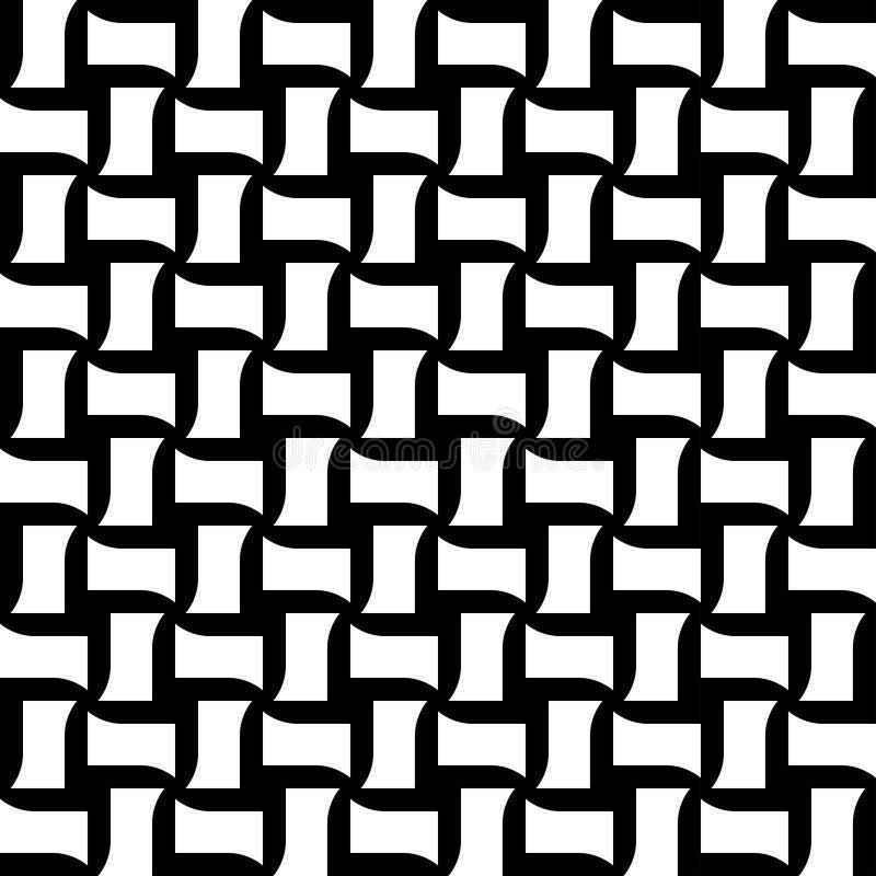 Download Modello Senza Cuciture Geometrico In Bianco E Nero, Fondo Astratto Illustrazione Vettoriale - Illustrazione di illustrazione, rappezzatura: 56881684