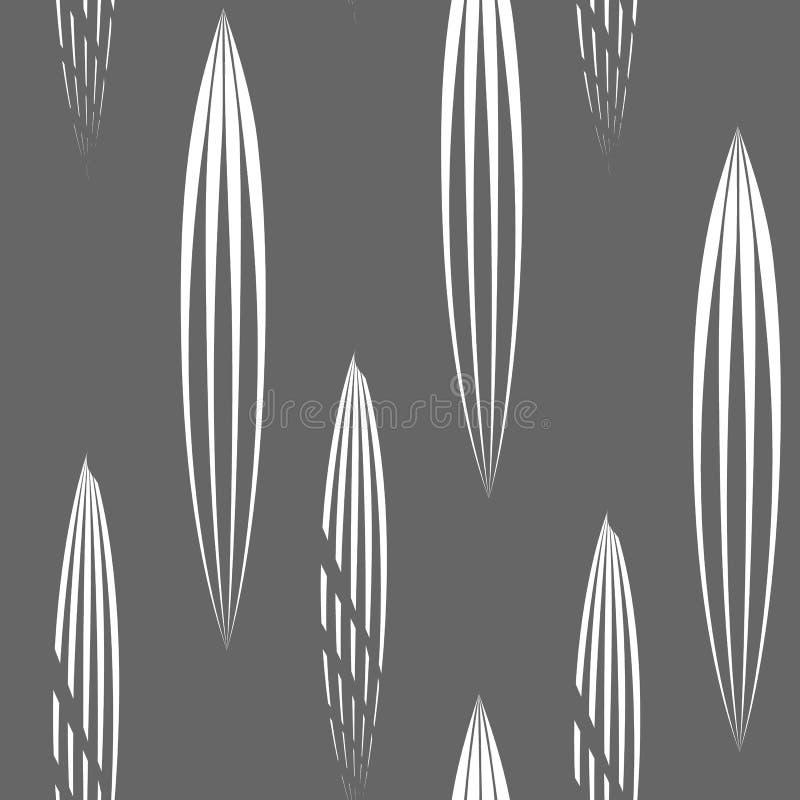 Modello senza cuciture geometrico, fondo astratto della piastrellatura, illustrazione senza fine della carta da parati di ripetiz illustrazione di stock
