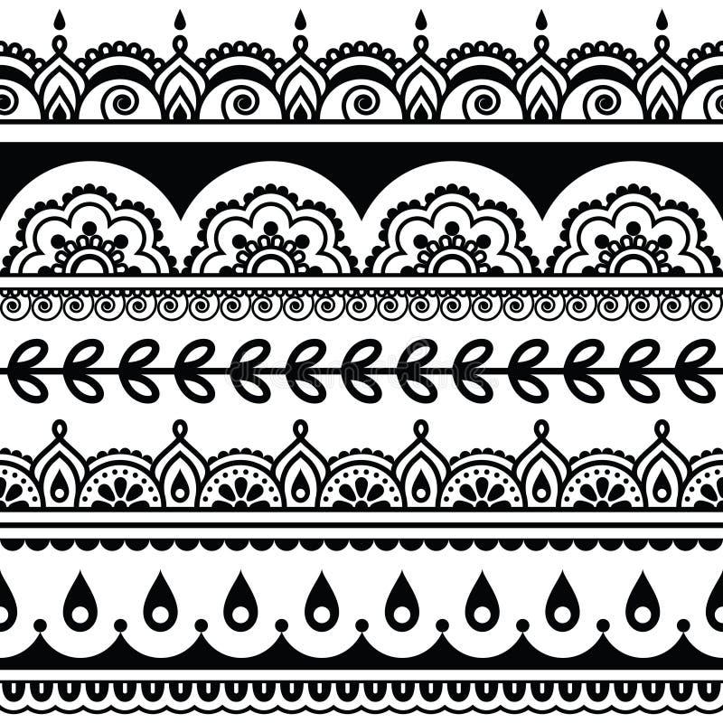 modello senza cuciture indiano elementi di progettazione