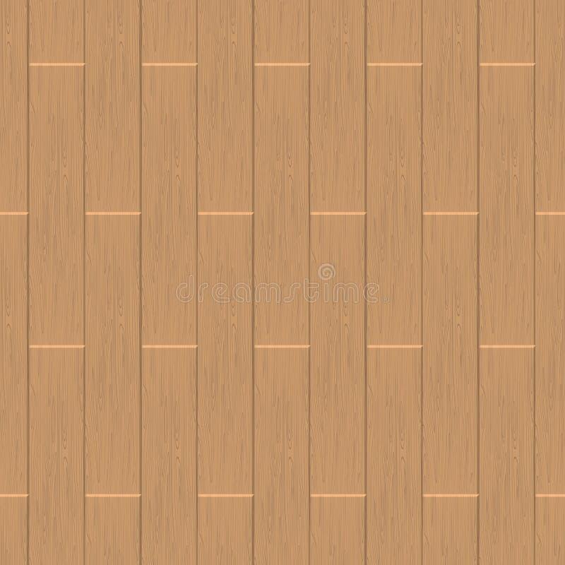 Modello senza cuciture laminato Struttura della pavimentazione di legno BAC di vettore illustrazione vettoriale