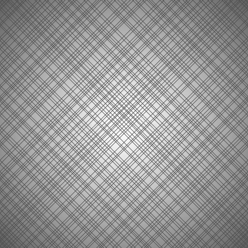 Modello senza cuciture monocromatico con le linee trasversali illustrazione vettoriale