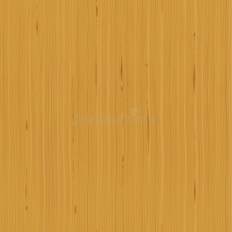 Modello senza cuciture orizzontale di struttura di legno royalty illustrazione gratis