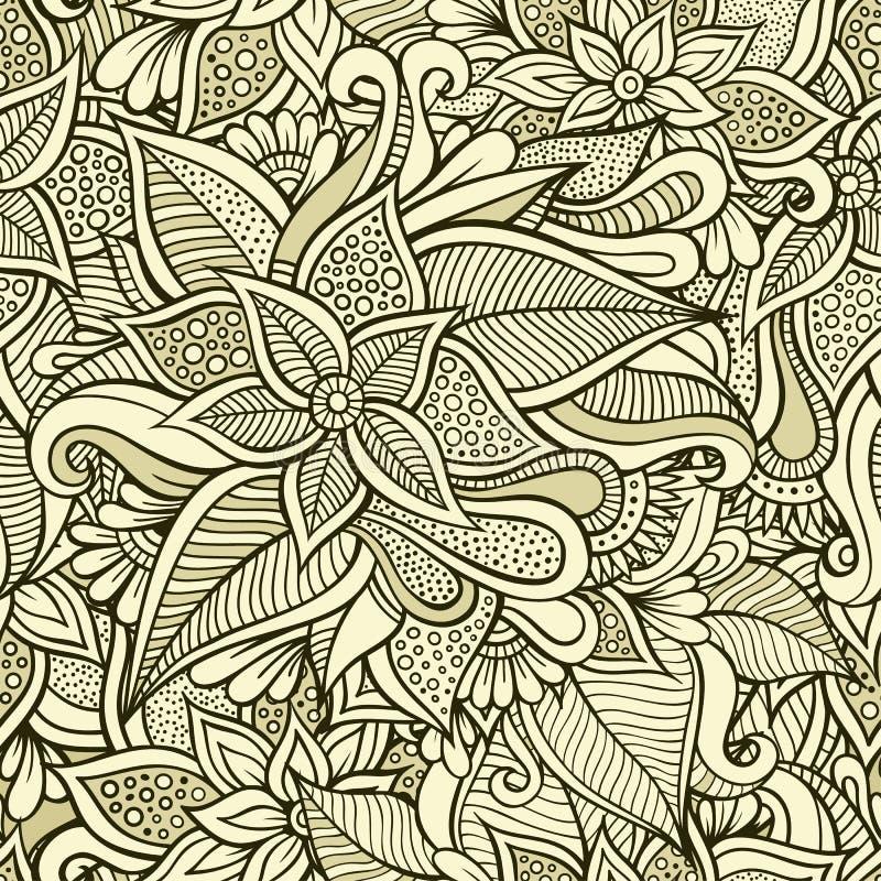 modello senza cuciture ornamentale floreale royalty illustrazione gratis