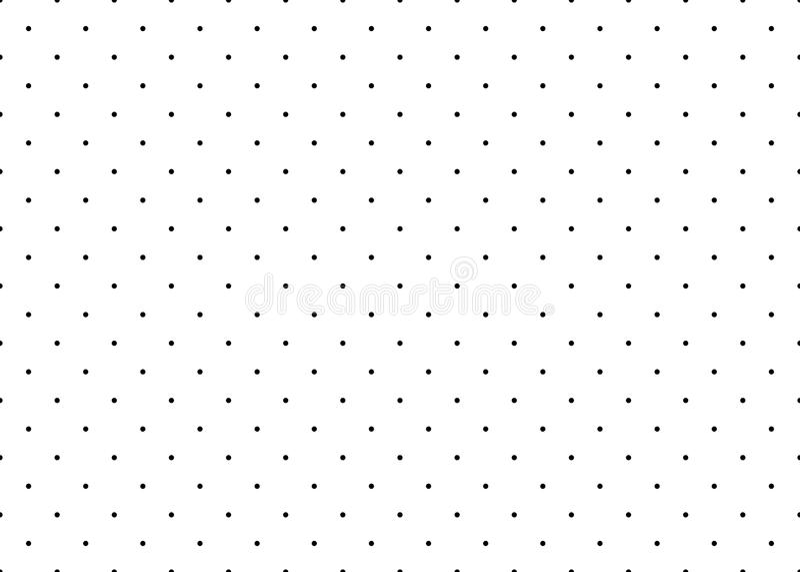 Modello senza cuciture semplice punteggiato di vettore illustrazione vettoriale