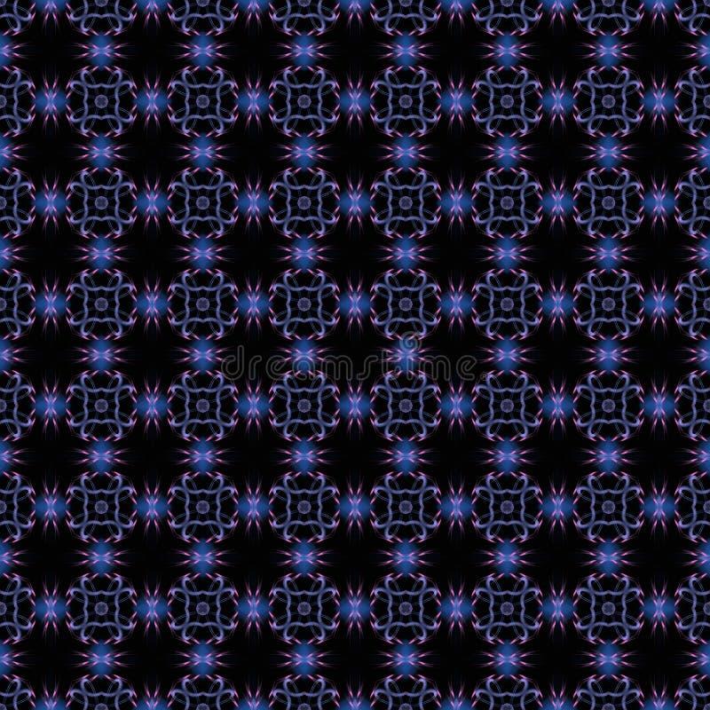 Download Modello Senza Cuciture Sul Nero Illustrazione di Stock - Illustrazione di modello, tiled: 30830381