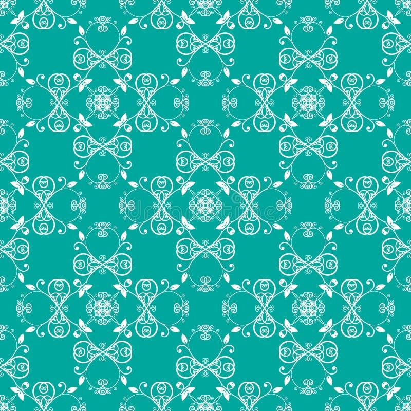 Download Modello Senza Cuciture Verde Blu Illustrazione Vettoriale - Illustrazione di infinito, grafici: 56886071