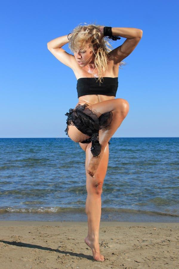 Modello sexy del bikini fotografia stock libera da diritti