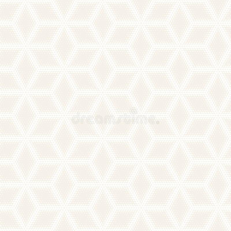 Modello sottile senza cuciture di vettore Struttura alla moda moderna con traliccio monocromatico Ripetizione della griglia geome fotografia stock libera da diritti