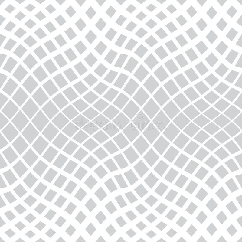 modello sottile trippy geometrico astratto del fondo immagine stock