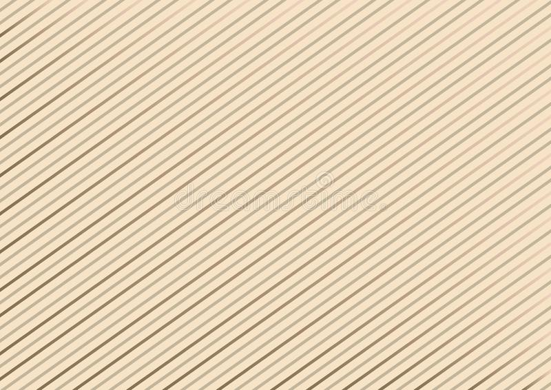 Modello a strisce geometrico con le linee continue su fondo pastello Vettore royalty illustrazione gratis