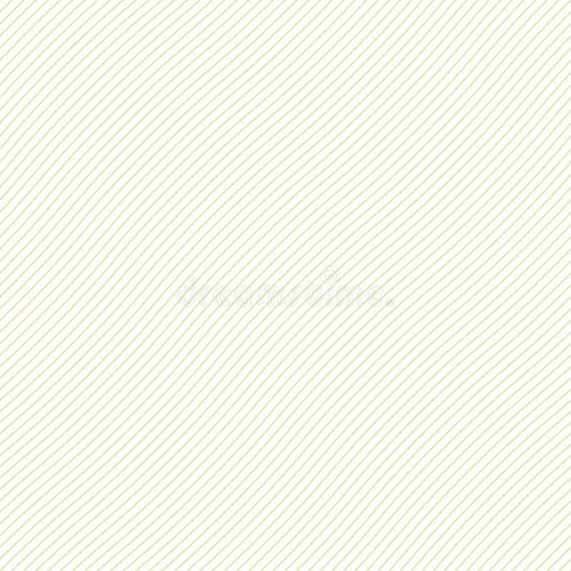 Modello a strisce senza cuciture ondulato Simile a carta, panno, struttura del tessuto Priorità bassa fragile illustrazione di stock