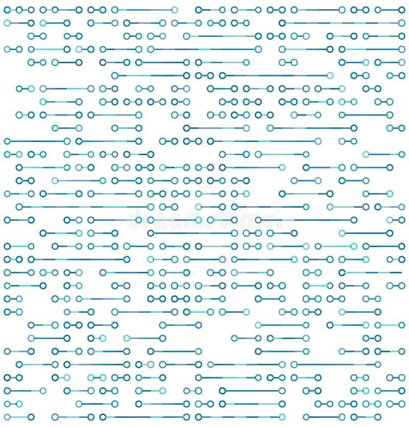 Modello techno Vettore illustrazione vettoriale
